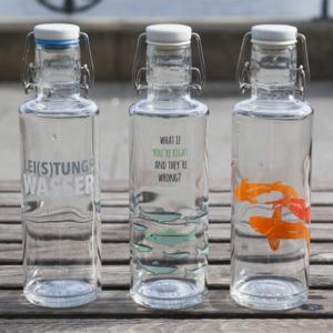 soulbottle 0,6l - Glastrinkflasche ohne Plastik - verschiedene Motive - soulbottles