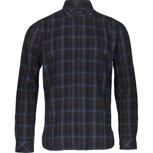 Kariertes Hemd - Overdyed checked shirt - Insigna Blue - KnowledgeCotton Apparel