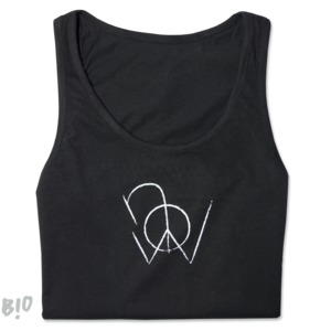 "Tanktop ""peace now"" - yogipop"