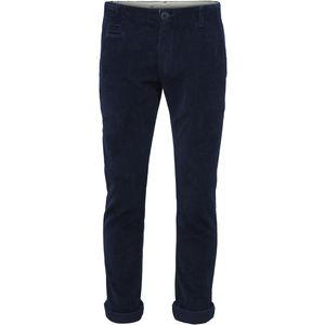 Chino Hose - Wales Corduroy - Total Eclipse - KnowledgeCotton Apparel