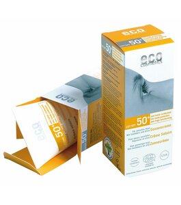 eco cosmetics Sonnencreme LSF 50 (leicht getönt) - eco cosmetics