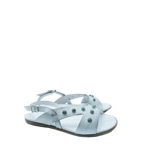 Schöne Sandale mit Schmucksteinen - SCHUHMANN`S