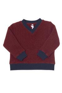 V-Neck Sweater Strickwalk  - TEXTILBURG