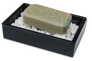 """Seifenschale aus Schiefer """"Stonebase"""" - Olivenholz erleben"""