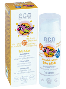 eco cosmetics Baby & Kids Sonnencreme LSF 50+ - eco cosmetics