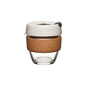 Coffee to go Becher aus Glas mit Grifffläche aus Kork - Limited Edition - Small 227ml - KeepCup