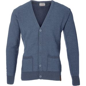 Strickjacke - Cardigan single wool knit - Total Eclipse - KnowledgeCotton Apparel