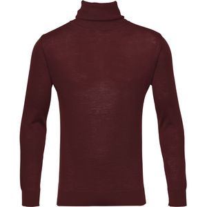 Rollkragenpullover - Roll neck - Decadent Chokolade - KnowledgeCotton Apparel