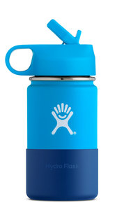 Neu! Hydro-Flask Kids Flask Wide Mouth 354 ml 4 Farben - Hydro Flask