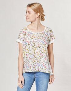 Bionda Druck-Shirt - geblümt - Deerberg