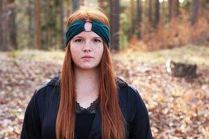 AMBER - 3in1 Stirnband - Opal - dreisechzig