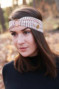 AMBER - 3in1 Stirnband - Rose Lines - dreisechzig