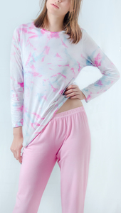 Süßer Pyjama Tie Dye Lichi Handmade - Maathai Organic