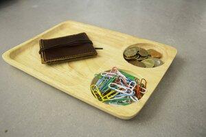 Holz Teller, Tablett, Sushi Platte, handgefertigt aus Akazienholz - BY COPALA