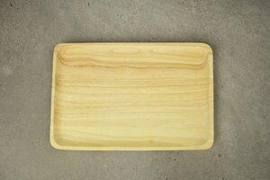 Holz Teller, Holz Tablett, handgefertigt aus Akazienholz - BY COPOLA