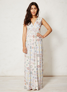 Kenza Majolica Maxi Dress - Thought | Braintree