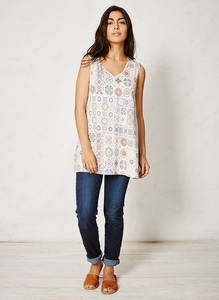 Kenza Bamboo Top Majolica - Thought | Braintree