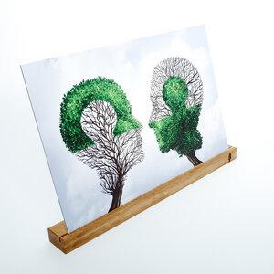 Bilderhalter kadro granda, Bildhalter Tisch | Bildhalterung aus Holz - Holzbutiq