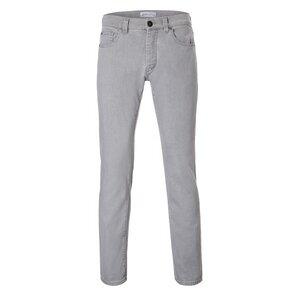 Mens Slim Straight Jeans Black Silver - goodsociety