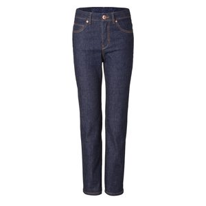 Womens High Waist Straight Raw One Wash - goodsociety