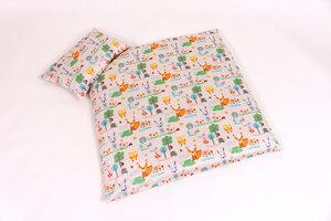 Bettwäsche: Design Waldtiere  für Babys und Kinder 2 Größen wählbar 100 % kbA Baumwolle - mudis - Naturkissen & mehr