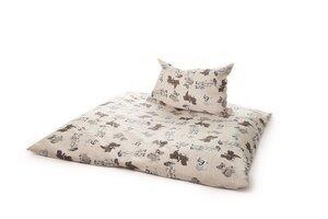 Bettwäsche: Design Happy Child  für Babys und Kinder 2 Größen wählbar 100 % kbA Baumwolle - mudis - Naturkissen & mehr