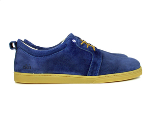 Birch Blue Suede Caramel Sole - ekn footwear