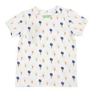 Kurzarm Shirt Ice Cream - Lily Balou