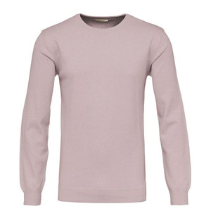 Swatshirt - Basic O-Neck Cashmere/Cotton - Orchid Pink - KnowledgeCotton Apparel