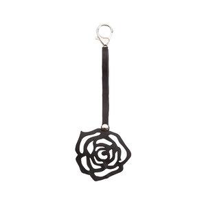 Rose handgefertigter Kautschuk Schlüsselring - SAPU