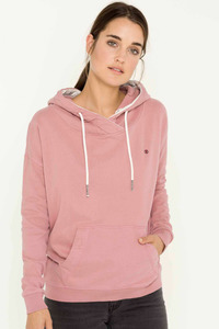 Philline Kontrast Sweat Hoody - antique rose - SHIRTS FOR LIFE