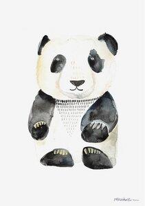 Poster Oskar der Panda - Gretas Schwester