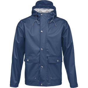 Rain Jacket - Insigna Blue - KnowledgeCotton Apparel