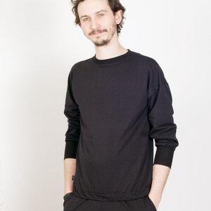 Sweater Gin schwarz unisex - KOLO Berlin