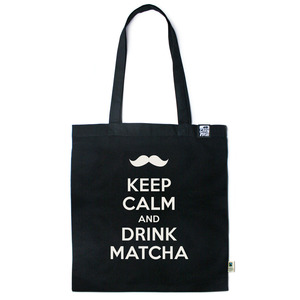 Baumwolltasche Keep calm and drink Matcha - Gary Mash