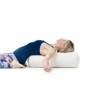 BIO Yogarolle RESTORATIVE Ø24 cm Bio-Dinkelspelzen - Lotuscrafts