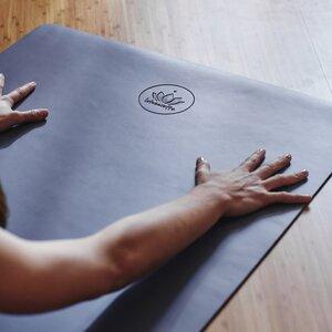 Yogamatte  Pur aus Naturkautschuk - Lotuscrafts