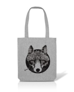 Recycling Stofftasche Fuchs - Kommabei