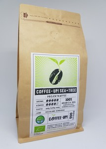 Coffee-Up! Sea + Tree Projektkaffee 500g, ganze Bohne - Coffee-Up!