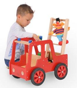 NEU 2018 Feuerwehrauto ,super süss für Kids, aus Holz Buche massiv (ohne Deko) - Bätz Holzspielwaren
