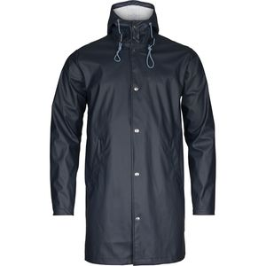 Long Rain Jacket - Total Eclipse - KnowledgeCotton Apparel