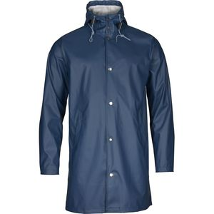 Long Rain Jacket - Insigna Blue - KnowledgeCotton Apparel