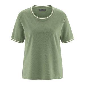 modisches Kurzarmshirt - HempAge