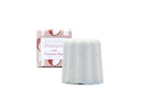 Festes Shampoo für trockenes Haar // Vanille-Kokos - Lamazuna