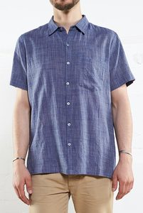 Handloom Shortsleeve Shirt - Nomads Fair Trade Fashion