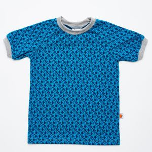 Kurzarm T-shirt 'Little Fish' aus 95% Bio-Baumwolle und 5% Elasthan - Cheeky Apple