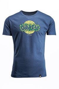 "SATIVA ""GREEN LEAVES"", Bambus T-Shirt Green Leaves für Männer - Green-Shirts"