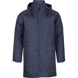 Bounded parca jacket - Total Eclipse - KnowledgeCotton Apparel