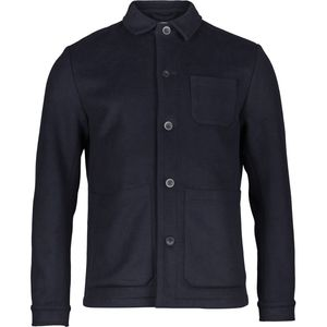 Wool shirt jacket - Total Eclipse - KnowledgeCotton Apparel