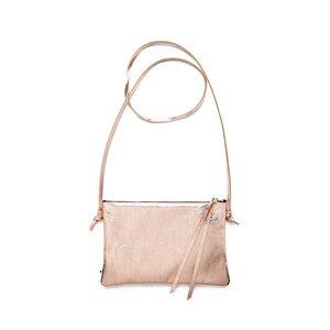 Lederhandtasche LILLY aus Leder - Kupfer - ELEKTROPULLI